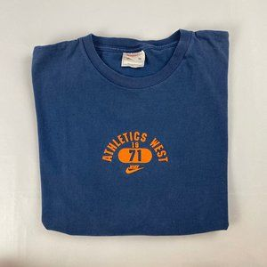 vintage Nike athletics west tee